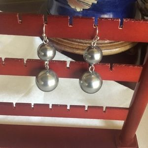 $8 ea or 3/$15. Large Double Faux Silver Pearl
